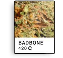 Bad Bone (Pantone) Weed 420 Metal Print