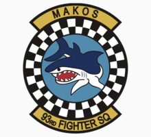 93rd Fighter Squadron - Makos by VeteranGraphics