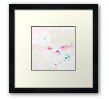 Catch a flower  Framed Print