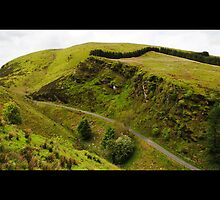 Barnes Gap, Sperrin Mountains, Northern Ireland by Sarah Cowan