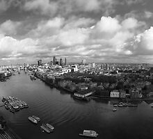 London By Flight by berndt2