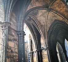 Arches, Lincoln Cathedral by Robert Steadman