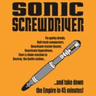 Sonic Screwdriver taking down the Empire by Dumpsterwear