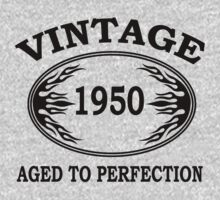 vintage 1950 aged to perfection by seazerka