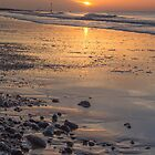 Beautiful Sunset by the Sea by Pixie Copley LRPS