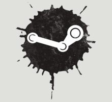 Steam Splatter Logo by nullsound