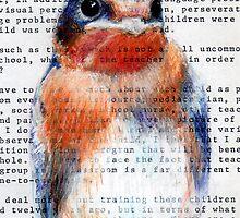 Barn Swallow  by paulapaints