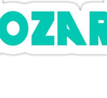 Mozart Metallica green Sticker