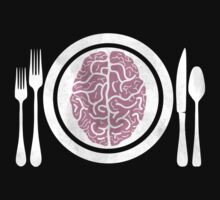 Brains for Dinner by PokerTShirts
