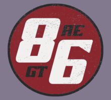 86 - AE or GT?   (dark print) by BGWdesigns