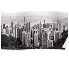 Hong Kong from the Peak Poster