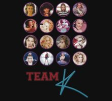 Kylie - Team K albums t-shirt by markkm08