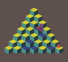 Qbert by Speedydragon