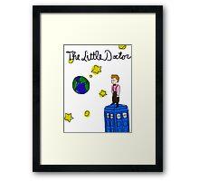 The Little Doctor (open background) Framed Print