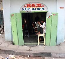 Ram Hair Saloon by Andrew  Makowiecki
