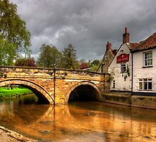 The Rose at Pickering Bridge by Tom Gomez