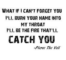 Pierce the Veil Caraphernelia lyric by laurenpears