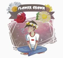 Danny Fenton- Flower Crown by Didyoujustboop