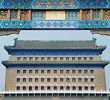 Beijing's Eastern Gate by the WORLD in a  FRAME