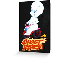 The Friendly Ghost Rider Greeting Card