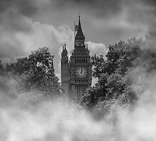 Big Ben 1859 London by outlawalien