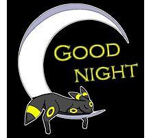 Good Night, Moonlight Pokemon Photographic Print