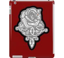 Kushiels Dart Phedre's Briar Rose Marque Tattoo iPad Case/Skin