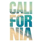 California Vintage Instagram Beach Typography by RexLambo