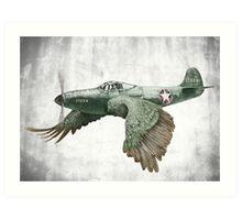 It's a bird. It's a plane... Art Print