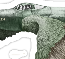 It's a bird. It's a plane... Sticker