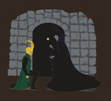 Loki & Maleficent   by xxSliverCrownxx