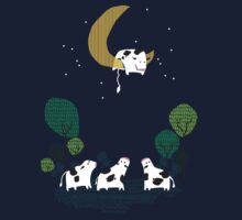 A Cow Jump over the moon Kids Clothes