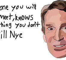 Bill Nye the shirt guy by DaftPina