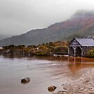 The Boathouse at Cradle Mountain by Christine Smith