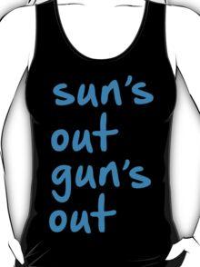 22 Jump Street - Channing Tatum - suns out guns out vest T-Shirt