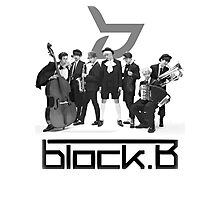 Block B Photographic Print