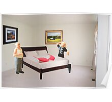 To dispel the idea I never listen to you-SURPRISE..here's that mammory foam mattress you wanted. Poster