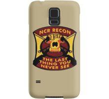 NCR 1st Recon Samsung Galaxy Case/Skin