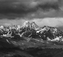Patagonian Peaks, Chile by Cherrybom