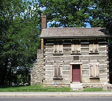 Historic Log Cabin Post Office by VivianRay