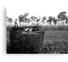 the Picnic Basket Canvas Print