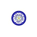 Leeds United Retro Badge by Total-Cult