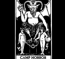 Camp Horror Tarot  by chrisraimoart