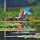 Fisherman Pillow by relayer51