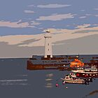 Donaghadee Lighthouse by Josephine Mulholland