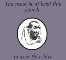 Jewish shirt by DrewLyon