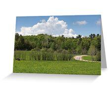Park Landscape Greeting Card