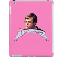 Dane DeHaan - I hate everything iPad Case/Skin