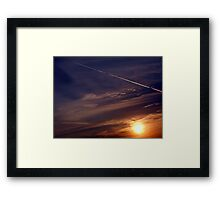 ©TSS The Sun Series L Sunrise Track IA Framed Print