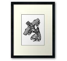 Carry the Cross Framed Print